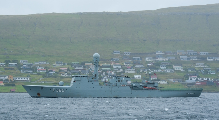 Danish navy in the Faroes