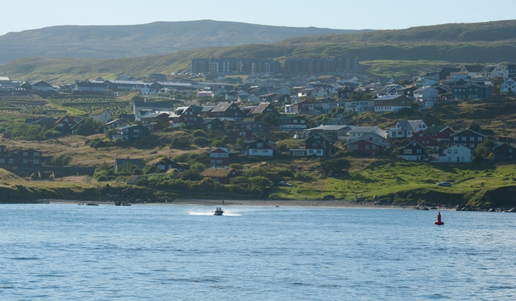 Torshavn whaling beach from sea
